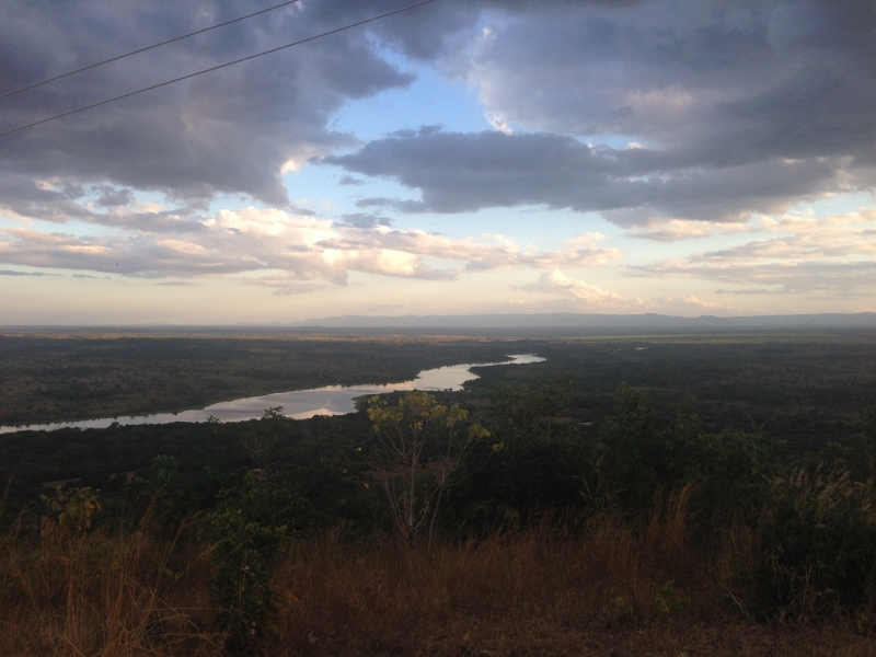 View towards Mozambique from Malingunde Hill
